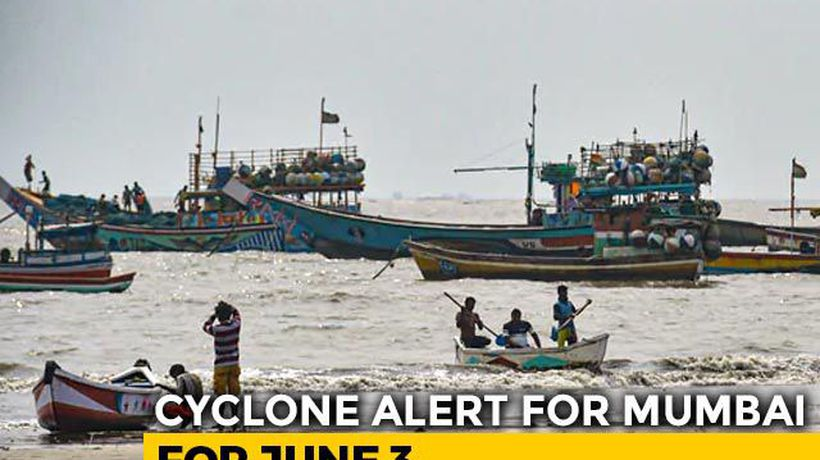 Mumbai On Red Alert As Cyclone Nisarga Expected To Bring 100 kmph Winds