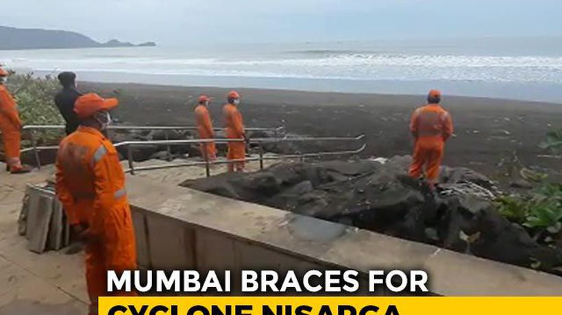 Cyclone Nisarga Likely To Make Landfall Near Pandemic-Hit Mumbai Tomorrow