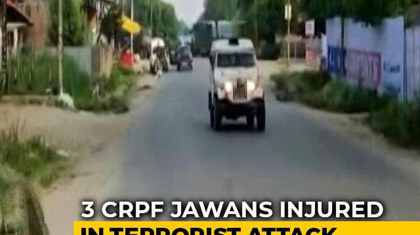 CRPF Jawan, Civilian Dead After Terrorists Attack Patrol Party In J&K