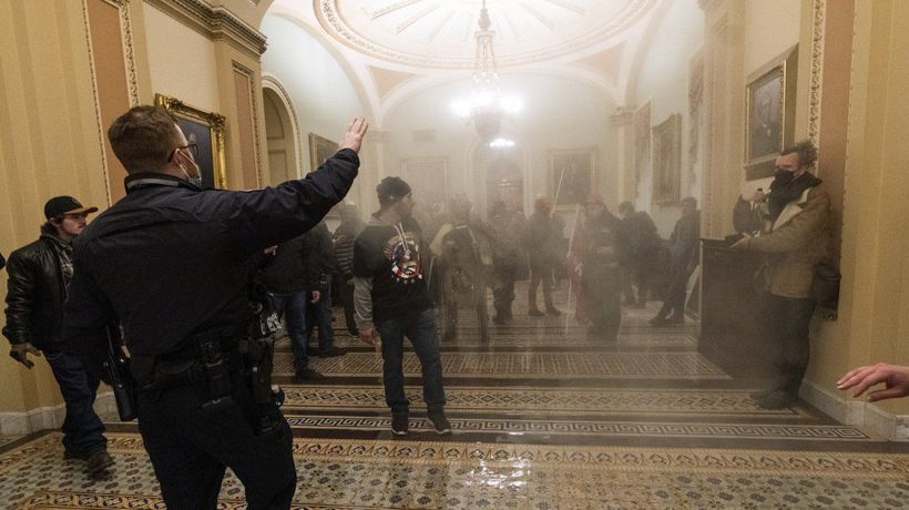 No Charges Filed Against Officer Who Shot Woman In Capitol Riot