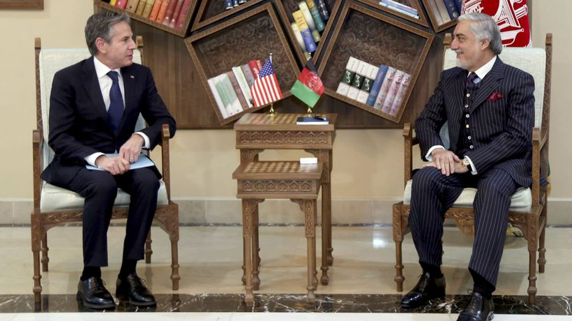 Secretary Of State Makes Unannounced Visit To Afghanistan