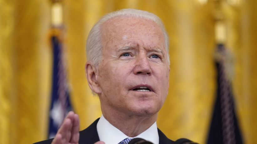 Pres. Biden Asks Federal Employees To Get Vaccinated