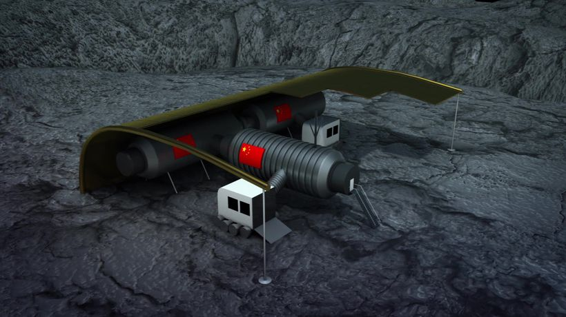 China plans to build a research station on the moon