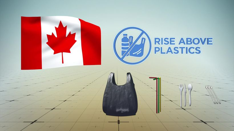 Canada plans to ban single-use plastics by 2021