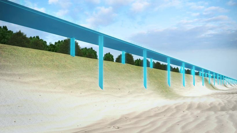 New York borough Staten Island building seawall to prepare for climate change