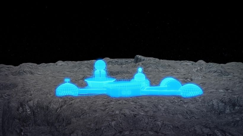 How humanity plans to build a permanent base on the moon