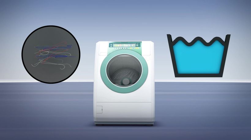 Additional microplastics are released by washing machine's delicate cycle: Study