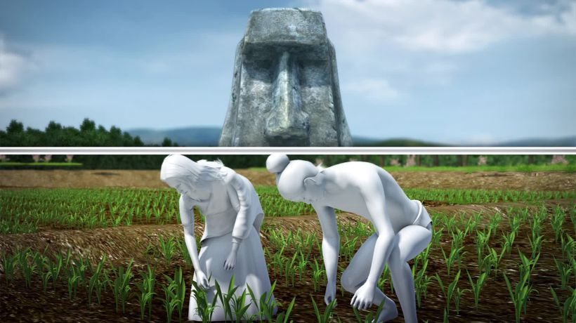 Easter Island's Moai statues may have fertilized ancient inhabitant's crops