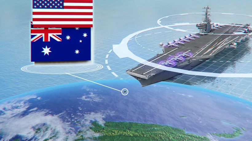U.S. holds large-scale trilateral naval exercise in the Indo-Pacific