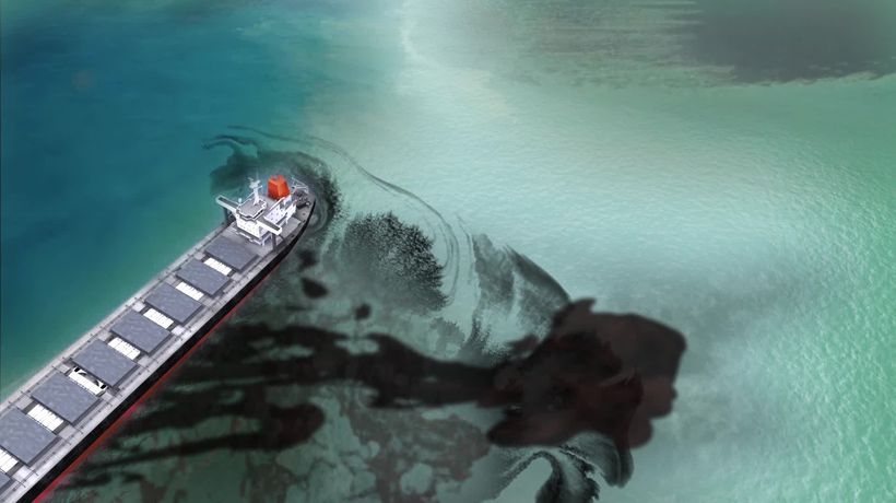 Explainer: How the Mauritius oil spill tanker changed course and ran aground