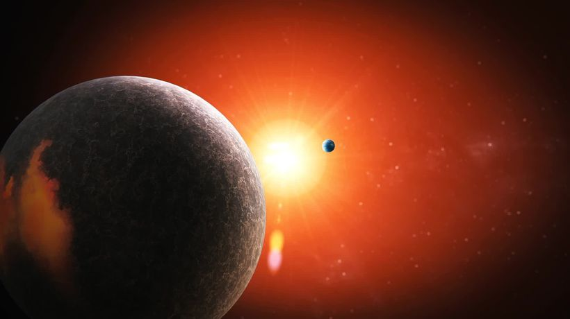 'Super-Earth' and 'sub-Neptune' found orbiting red dwarf