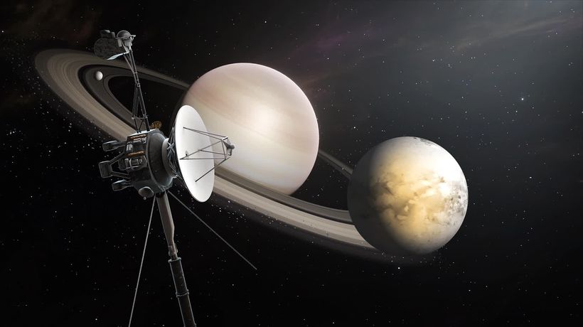 Voyager missions detect increase in density of space outside the solar system