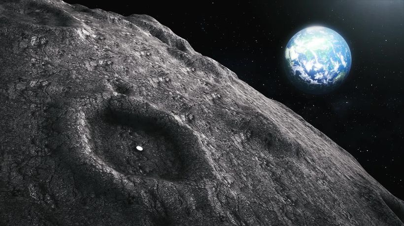 Scientists want giant 'liquid mirror' telescope on moon
