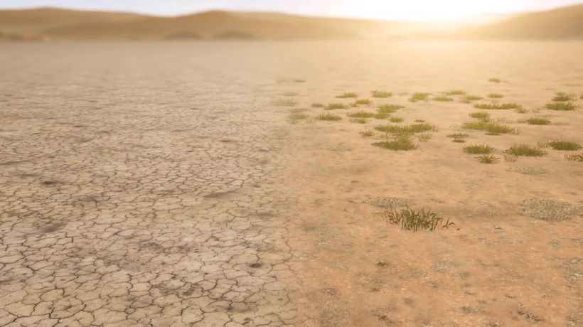 "Heat and evaporation causing ""irreversible"" drying of Mongolia"