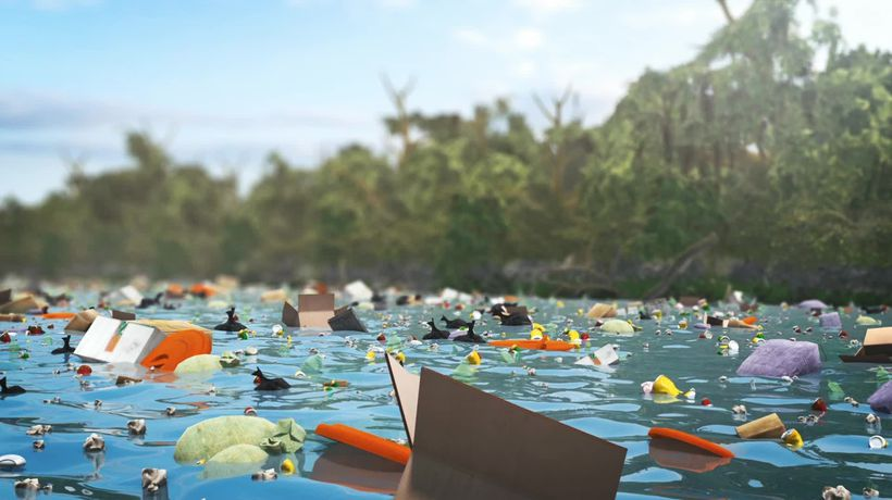 The Ocean Cleanup to step up production of floating plastic collector for rivers