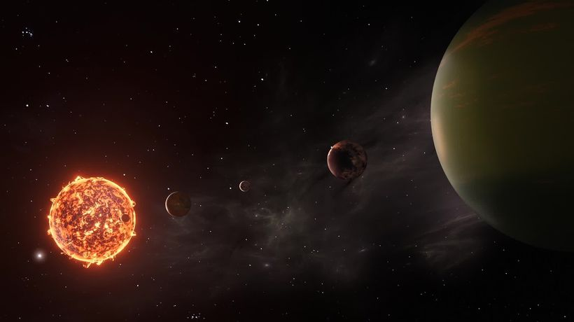 Astronomers discover the seven Earth-size TRAPPIST-1 planets may be made of similar stuff