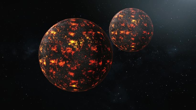 Earth's strange blobs could be huge pieces of alien planet