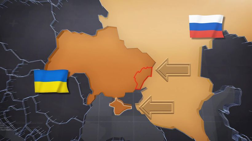 Russia vs Ukraine: How their forces compare