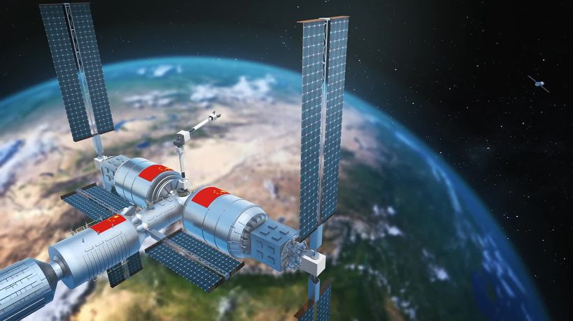 Report: space station is part of China's plan to dominate space