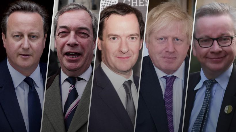 The faces of Brexit - where are they now?
