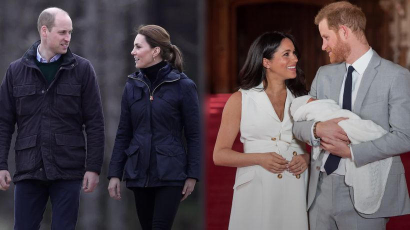 The Cambridges and Sussexes in profile