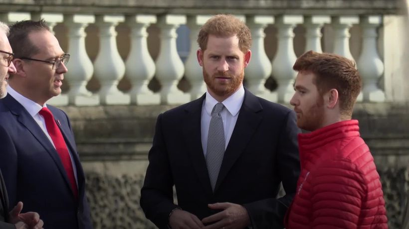 Duke of Sussex: Just call me Harry