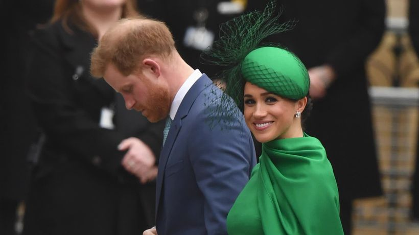 Prince Harry and Meghan's farewell to world as Royals