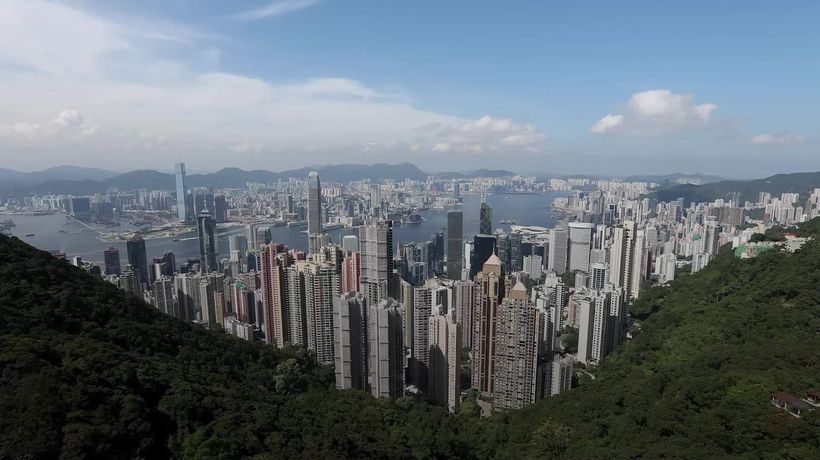 What is China's new security law for Hong Kong?