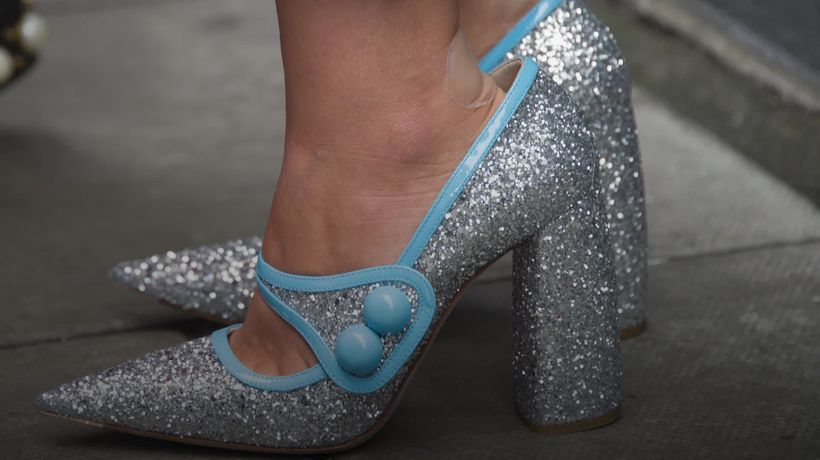 What is the problem with glitter?