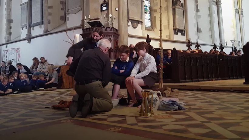 Foot washing and gifts of money: what is Maundy Thursday?