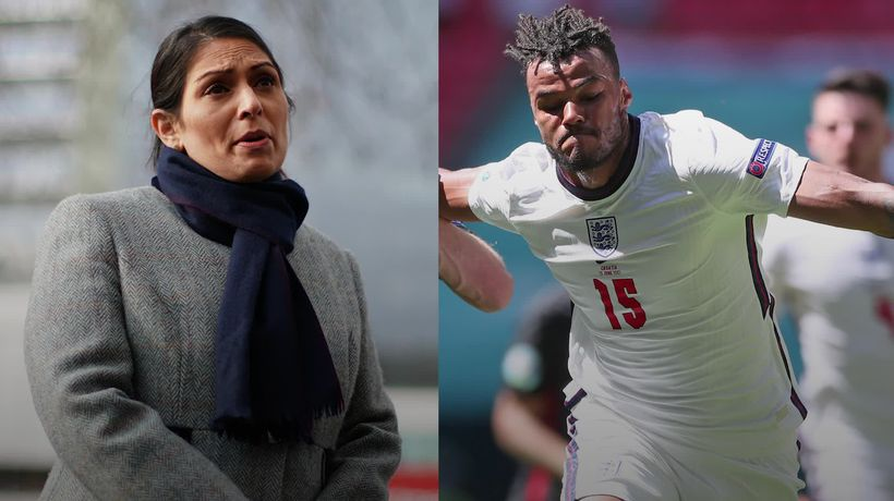 Tyrone Mings on England taking the knee after Priti Patel refuses to support