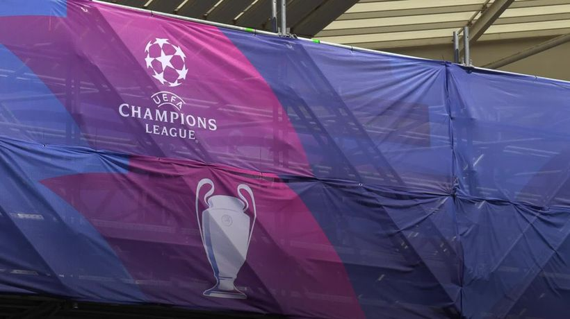 What is the 'Swiss model' for the new champions league?