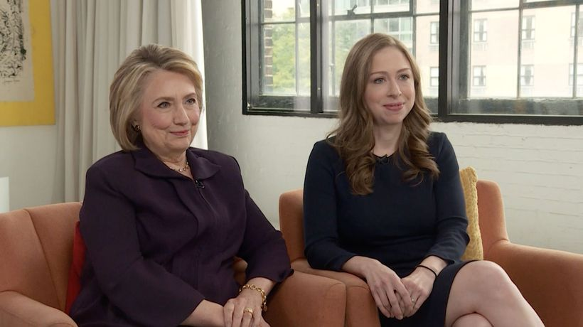 Hillary and Chelsea Clinton: Gutsy Women