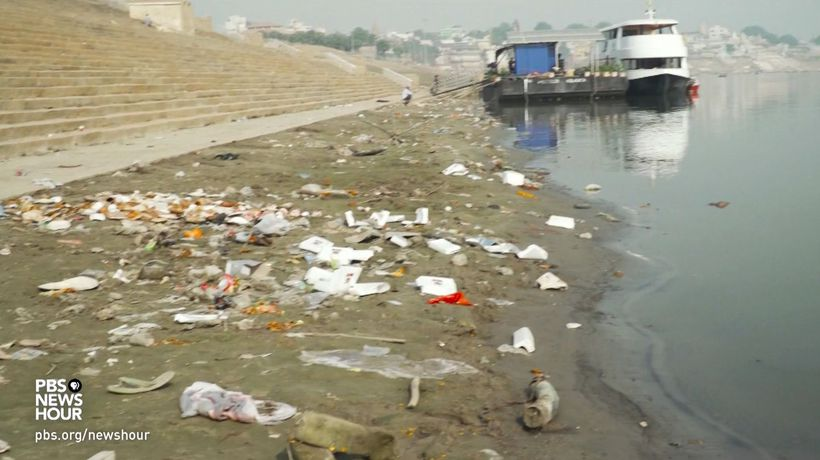 India's effort to clean up sacred but polluted Ganga River