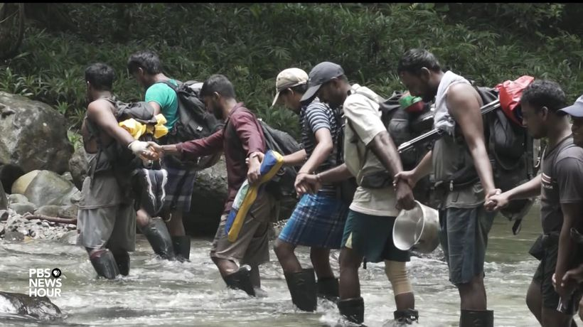 What Migrants Face As They Journey Through The Deadly Darien Gap