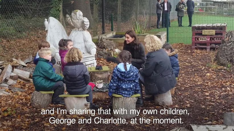 Duchess of Cambridge 'sharing' love for outdoors with George and Charlotte