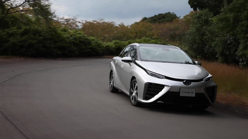 Beyond electric: Hydrogen-powered cars