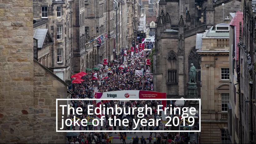 Olaf Falafel wins Edinburgh Festival Fringe joke of the year