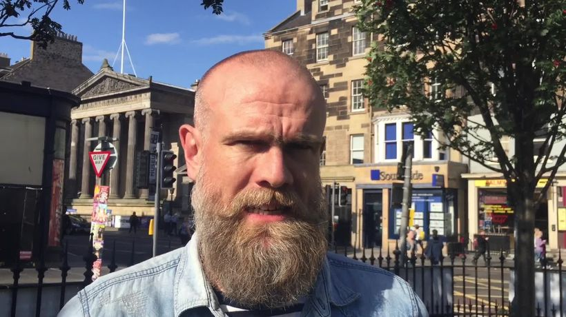 Olaf Falafel wins 2019 Edinburgh Fringe Festival joke of the year