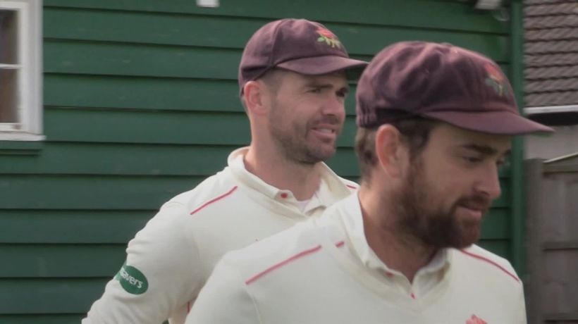 James Anderson returns to action for Lancashire 2nd XI