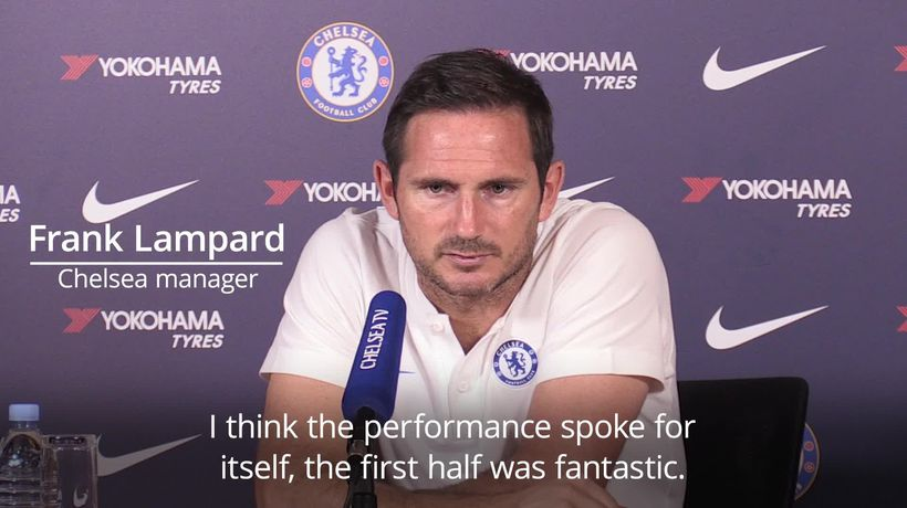 Frank Lampard: Chelsea strikers can be more clinical