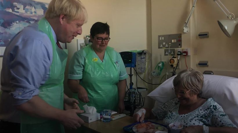 Boris Johnson: We want to deliver hot, buttered toast for the patients of this country