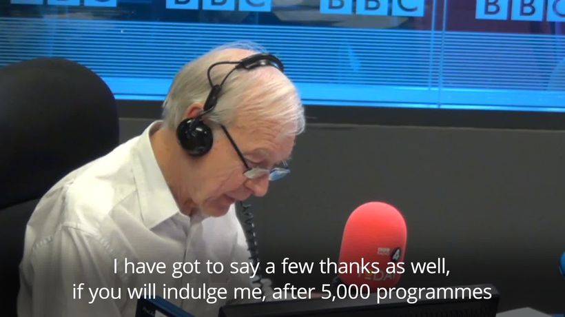 John Humphrys presents his final Today programme