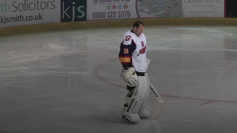 Petr Cech celebrates winning debut for Guildford Phoenix