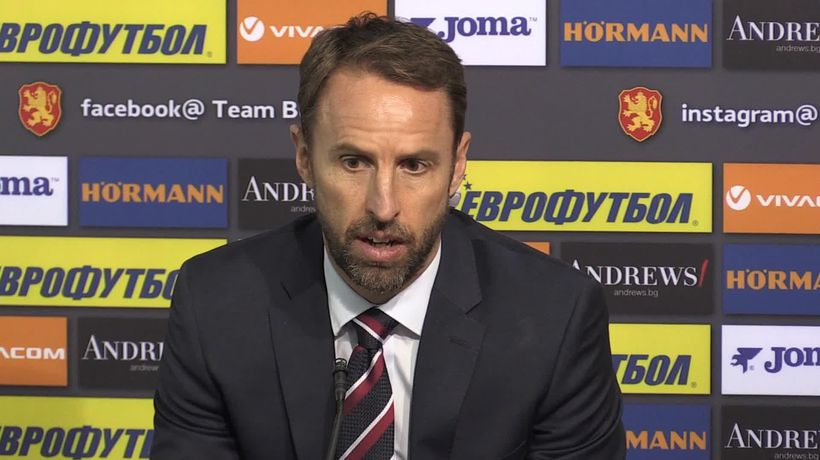 Gareth Southgate praises England's players in face of racial abuse