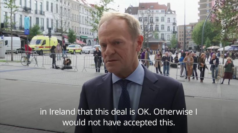 Donald Tusk: Brexit deal is better than no deal