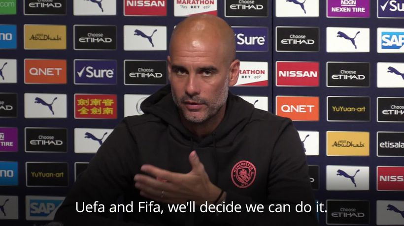 Pep Guardiola says he would 'welcome' team walking off the pitch in case of racist abuse