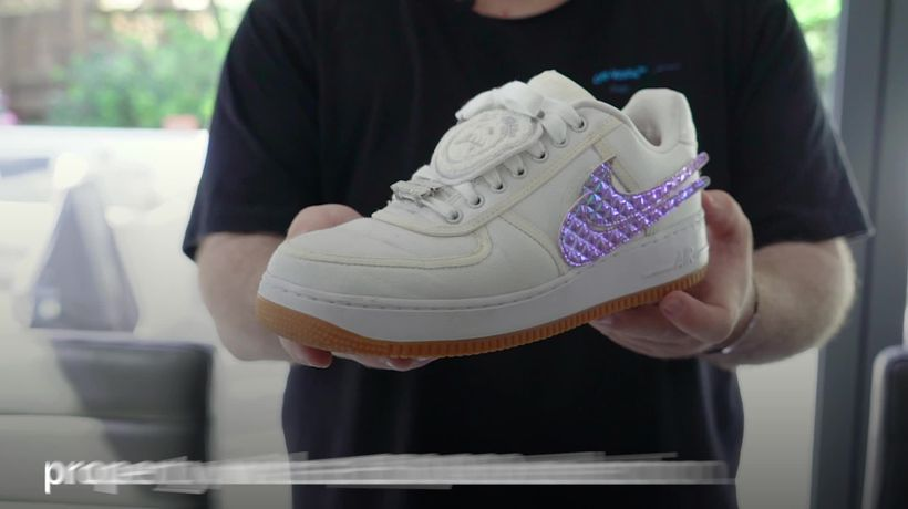 Essex man's GBP50,000 collection of designer trainers