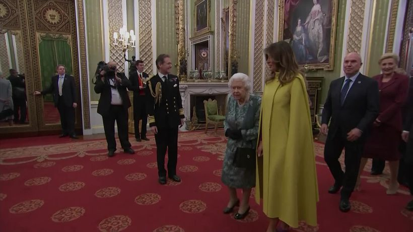 The Queen hosts Melania and Donald Trump at Buckingham Palace