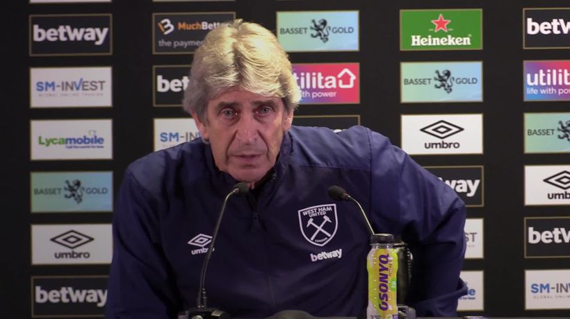 Manuel Pelligrini says West Ham must improve